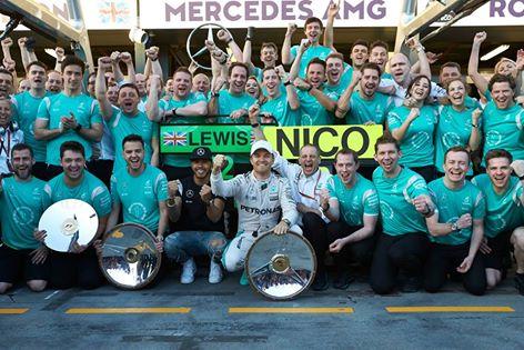 F1: Nico Rosberg vence GP da Austrália
