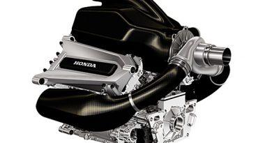 F1: Honda divulga foto do motor para 2015