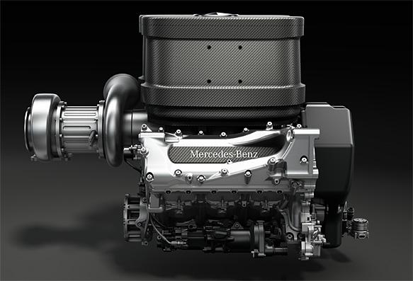 F1: Mercedes revela motor de 2014 da Fórmula 1