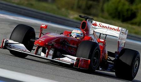 F1: Banco Santander vaza nova pintura da Ferrari para este ano