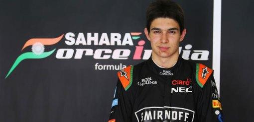 F1: Force India anuncia contratação de Esteban Ocon