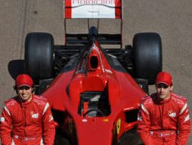 F1: Pérez testa na Ferrari e ganha elogios de diretor