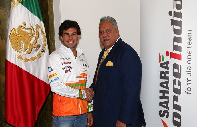 F1: Após Hulkenberg, Force India anuncia Sergio Pérez para 2014