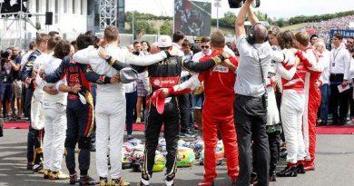F1: Pilotos prestam homenagem a Jules Bianchi antes do GP da Hungria