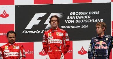 F1: Ferrari ordena e Fernando Alonso vence GP da Alemanha