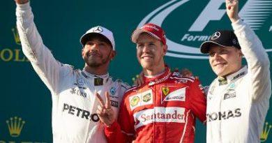 F1: Sebastian Vettel vence GP da Austrália
