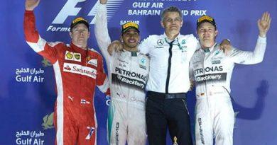 F1: Lewis Hamilton vence GP do Bahrein