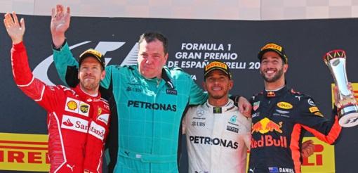 F1: Lewis Hamilton vence GP da Espanha