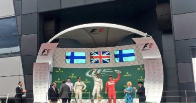 F1: Lewis Hamilton vence GP da Grã-Bretanha