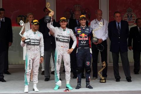 F1: Nico Rosberg vence GP de Mônaco