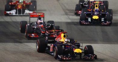 F1: Sebastian Vettel vence em Cingapura, e precisa de um ponto para ser bi