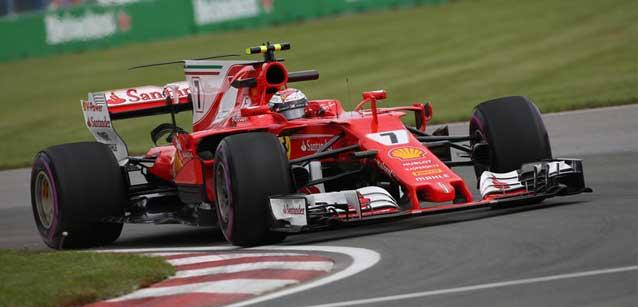 F1: Kimi Raikkonen é o mais rápido em Montreal
