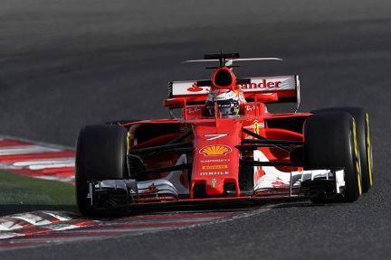 F1: Kimi Raikkonen lidera segundo dia de testes em Barcelona