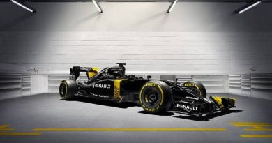 F1: Renault revela cores definitivas do R16