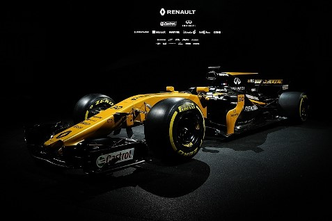 F1: Renault apresenta o RS17