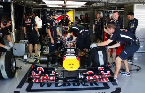 F1: Mark Webber é o melhor nos treinos livres em Suzuka