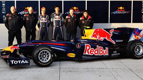 F1: Red Bull apresenta novo carro