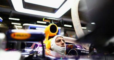 F1: Em treino com chuva, Daniel Ricciardo é o mais rápido