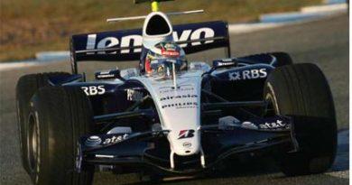 F1: Williams anuncia Nico Hulkenberg como piloto de testes