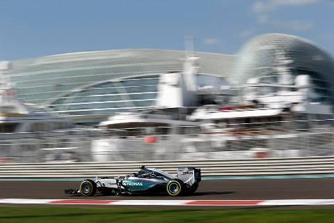 F1: Nico Rosberg é o mais rápido em Abu Dhabi