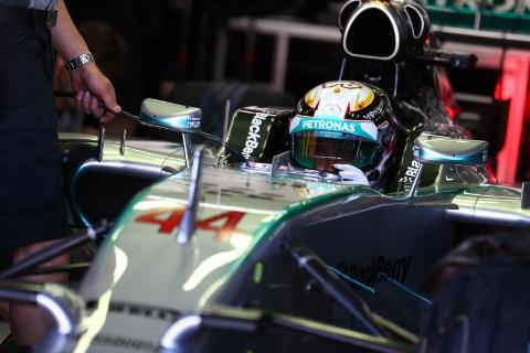 F1: Lewis Hamilton é o mais rápido na Alemanha