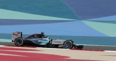F1: Nico Rosberg é o mais rápido no Bahrein