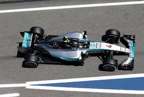 F1: Nico Rosberg é o mais rápido na Espanha