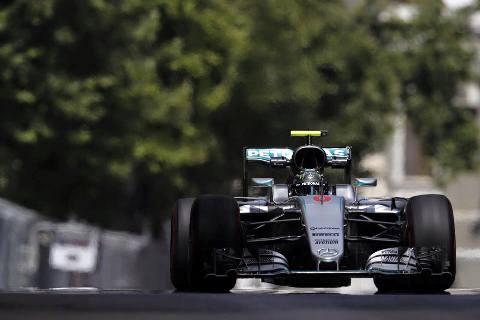 F1: Nico Rosberg marca a pole em Baku