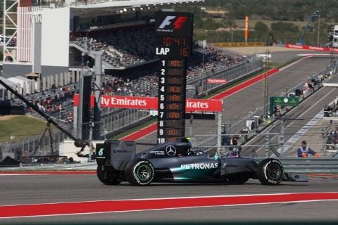 F1: Nico Rosberg marca a pole para o GP dos EUA