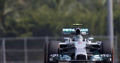 F1: Nico Rosberg é o mais rápido no terceiro treino livre