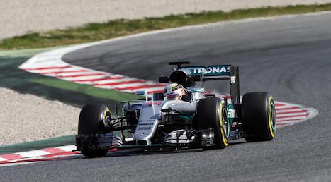 F1: Nico Rosberg é o mais rápido em Barcelona