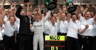 F1: Nico Roberg vence pela primeira vez