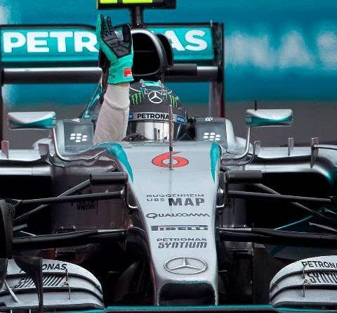 F1: Nico Rosberg vence GP do México