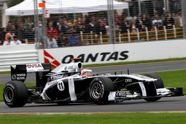 F1: Rubens tem corrida difícil, mas destaca competitividade do FW33