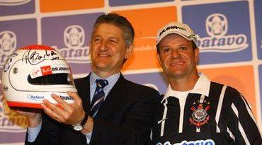 F1: Barrichello anuncia parceria com a Batavo para o GP Brasil