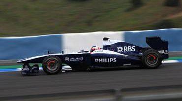 F1: Rubens Barrichello faz o terceiro melhor tempo na Espanha