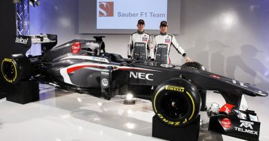 F1: Com nova pintura, Sauber lança novo carro