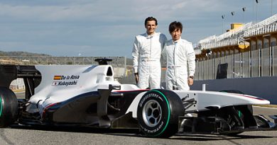 F1: Sauber apresenta sistema próprio de dutos de ar