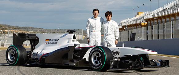F1: Sauber começa ano sem patrocínio forte