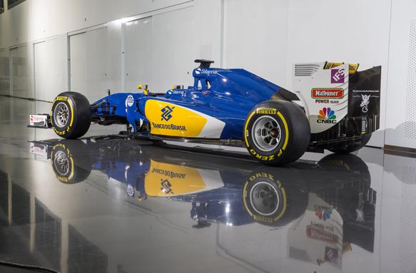 F1: Sauber mostra o novo visual