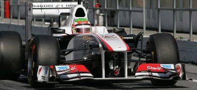 F1: Perez faz volta mais rápida do dia em Barcelona
