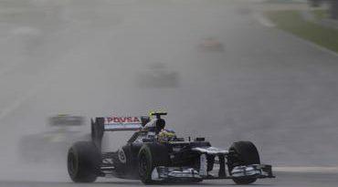 """F1: Bruno Senna comemora na Malásia: """"Foi bom demais!"""""""
