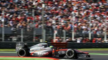 F1: Pane hidráulica causa abandono de Bruno Senna na Itália