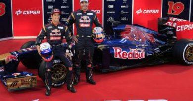 F1: Toro Rosso apresenta novo carro