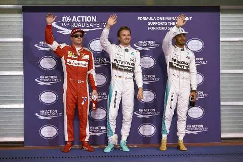 F1: Nico Rosberg marca a sexta pole consecutiva