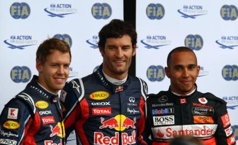 F1: Mark Webber marca a pole para GP da Alemanha