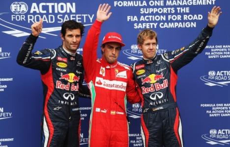 F1: Fernando Alonso marca a pole na Alemanha