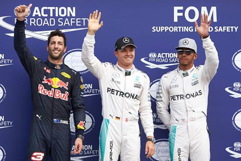 F1: Em casa, Nico Rosberg marca a pole-position