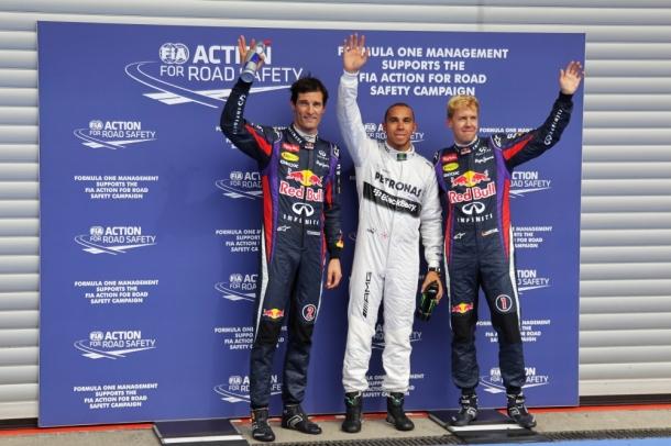 F1: Lewis Hamilton marca a pole em Spa-Francorchamps