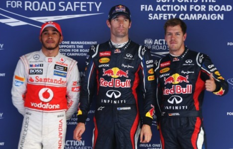 F1: Sebastian Vettel marca a pole na Índia